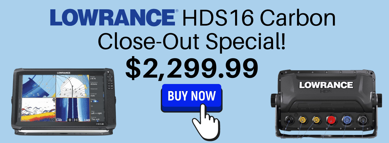 Lowrance HDS16 Carbon