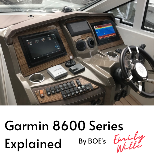 Garmin 8600 Series Explained