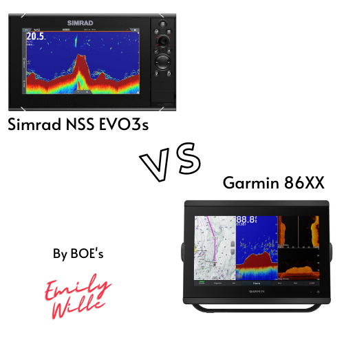 Garmin 8612xsv vs Simrad NSS12 Evo3s