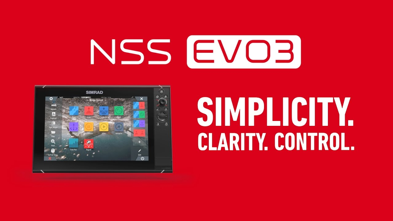 Simrad NSS Evo3 - Dual Channel CHIRP and more...