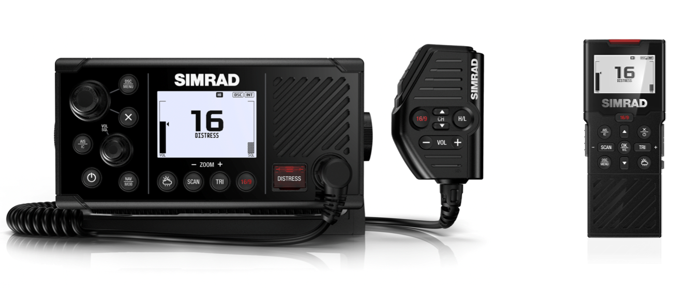 Simrad Launches New RS40 Fixed Mount VHF with AIS on